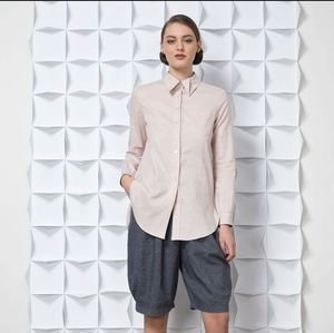 Jennifer Glasgow • Bering Button Up Top